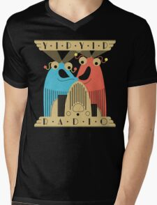 Yip-Yip Discover Radio! Mens V-Neck T-Shirt