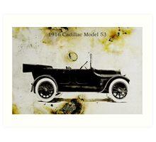 1916 Cadillac Art Print
