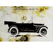 1916 Cadillac Photographic Print