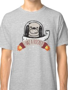 SPACE PUPPY HAZ A ROCKET! Classic T-Shirt