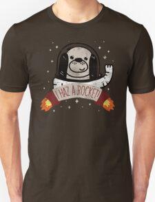 SPACE PUPPY HAZ A ROCKET! Unisex T-Shirt