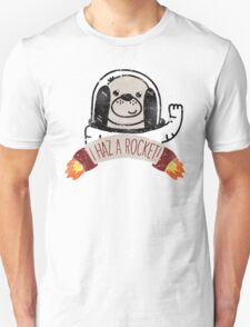 SPACE PUPPY HAZ A ROCKET! T-Shirt