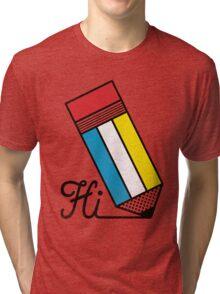 Mondrian: Greeting #2 Tri-blend T-Shirt