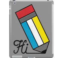 Mondrian: Greeting #2 iPad Case/Skin