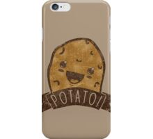 POTATO!!! iPhone Case/Skin