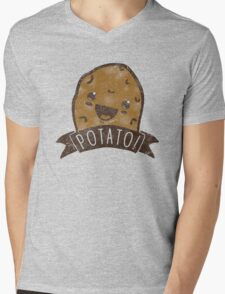 POTATO!!! Mens V-Neck T-Shirt