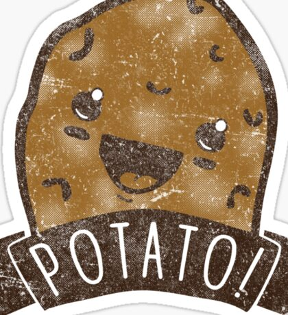 POTATO!!! Sticker