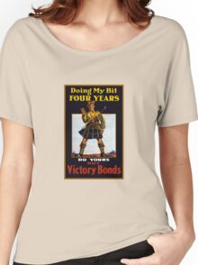 Buy Victory Bonds -- WW1 Women's Relaxed Fit T-Shirt