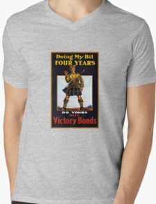 Buy Victory Bonds -- WW1 Mens V-Neck T-Shirt
