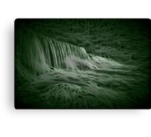Waterfall in the Woods Canvas Print