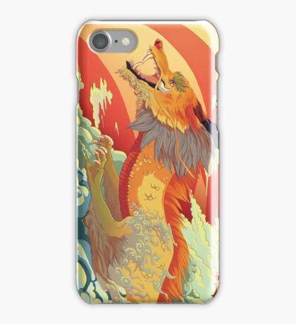 Golden scales iPhone Case/Skin