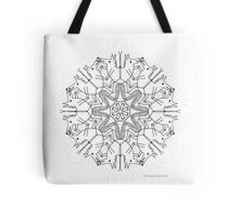 Wolfie Dance Tote Bag