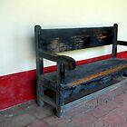 """Spanish Mission Bench"" by waddleudo"