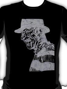 Freddy Krueger Lines T-Shirt