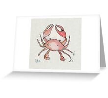 Wee Crab Greeting Card