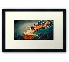 La Sirena - From Guilio Aristide Sartorio 1893 Framed Print