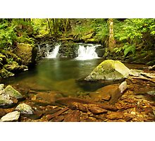 Double Falls at Torc  Photographic Print