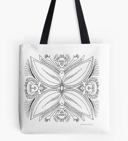Daring Yoni Angels Tote Bag