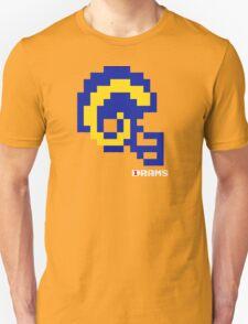 Tecmo Bowl - Los Angeles - 8-bit - Mini Helmet shirt Unisex T-Shirt