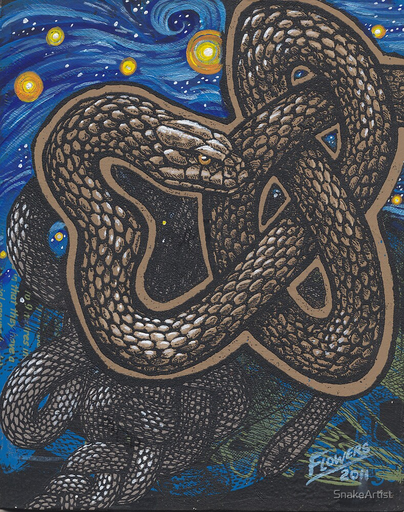 Celtic Serpent by SnakeArtist