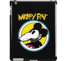 Mickey Rat Funny Parody Retro iPad Case/Skin
