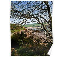 Mothercombe, Erme Estuary. Poster