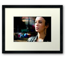 Cinematic OUT Framed Print