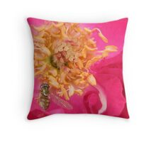 rose and friend Throw Pillow