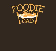 Foodie DAD with a plate Unisex T-Shirt