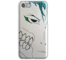 Minimalistic Grimmjow Jeagerjaques iPhone Case/Skin