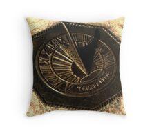"""""""Time Flies"""" Throw Pillow"""