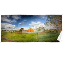 Farmview - Dawsley to Kanmantoo Road, Adelaide Hills, South Australia Poster