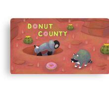 Donut County Canvas Print