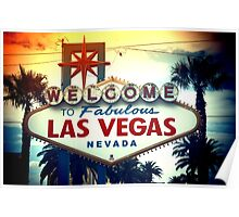 Welcome To Fabulous Las Vegas Poster
