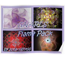 GNARLS - Flame Pack Cover Poster