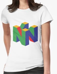 N64 Logo Womens Fitted T-Shirt