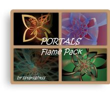 PORTALS Flame Pack - Cover Canvas Print