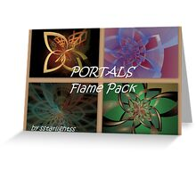 PORTALS Flame Pack - Cover Greeting Card