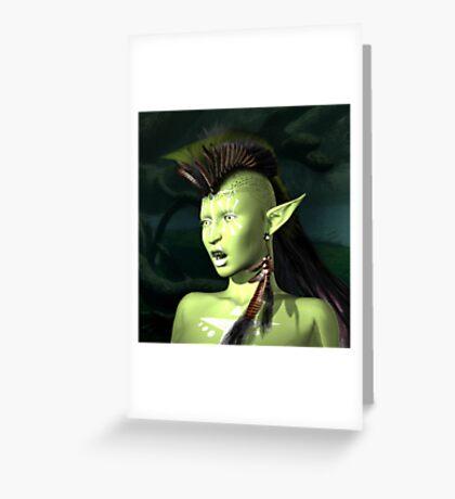 Hiss Greeting Card