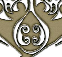 Skull - Celtic spiral Sticker