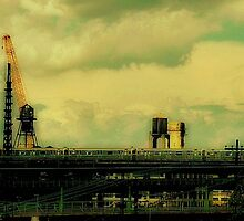 trains & cranes by ShellyKay