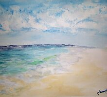 Beach Serenity by Jennifer Ingram