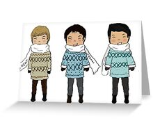 Sweater Weather Greeting Card