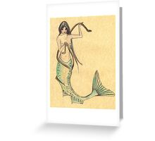 Inkmaid Queen Greeting Card