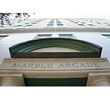 Marble Arcade Photographic Print