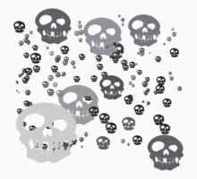 Skullies Everywhere! Kids Tee