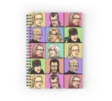 """Megane Gear Solid"" Spiral Notebook"