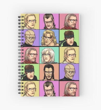 """Megane Gear Solid"" Spiral Notebook"