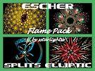ESCHER - SPLITS ELLIPTIC Flame Pack Cover by sstarlightss