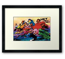 Fat Albert and the Gang Ready for battle Framed Print